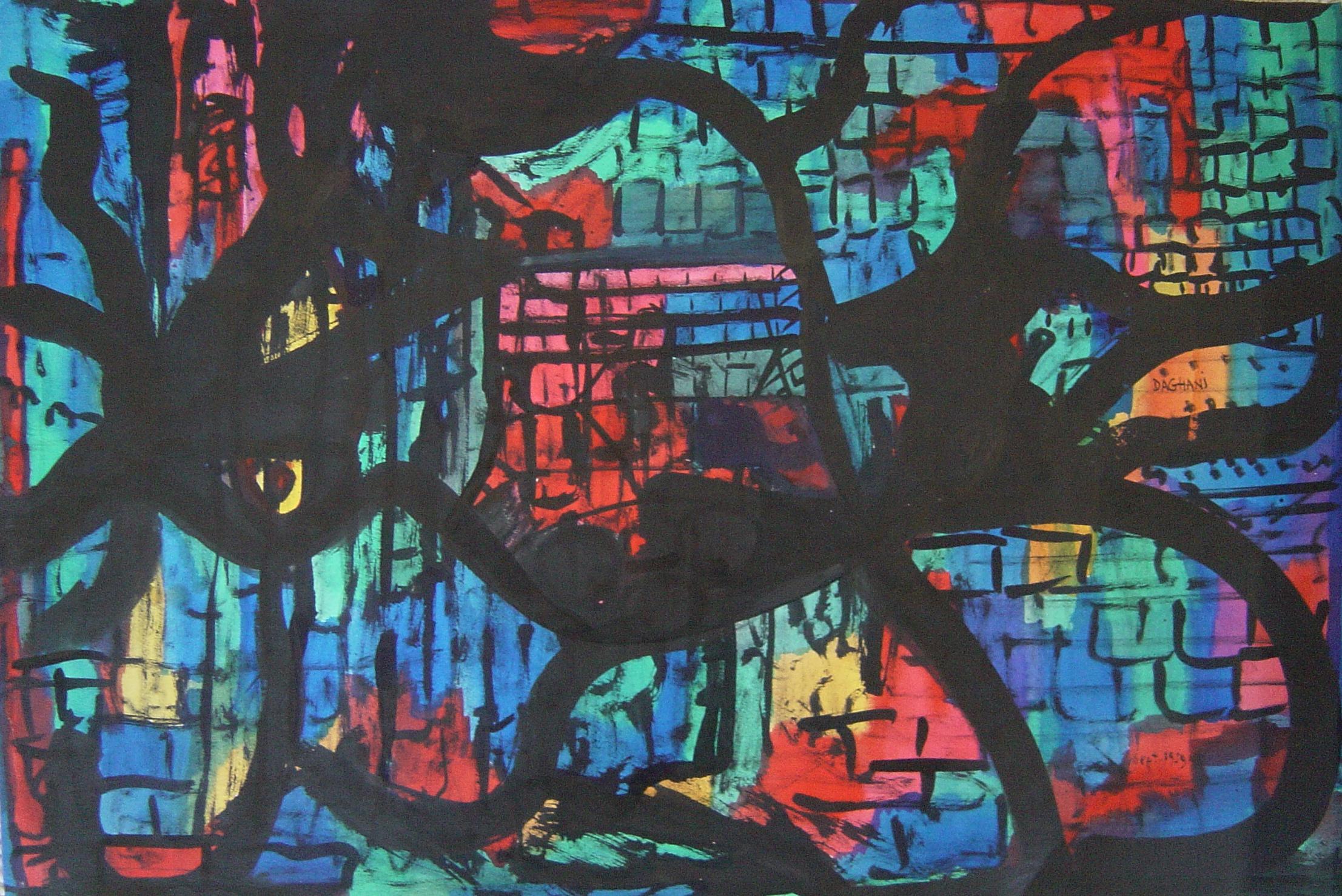 Arnold Daghani - abstract