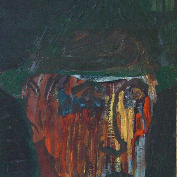 Arnold Daghani - Self Portrait