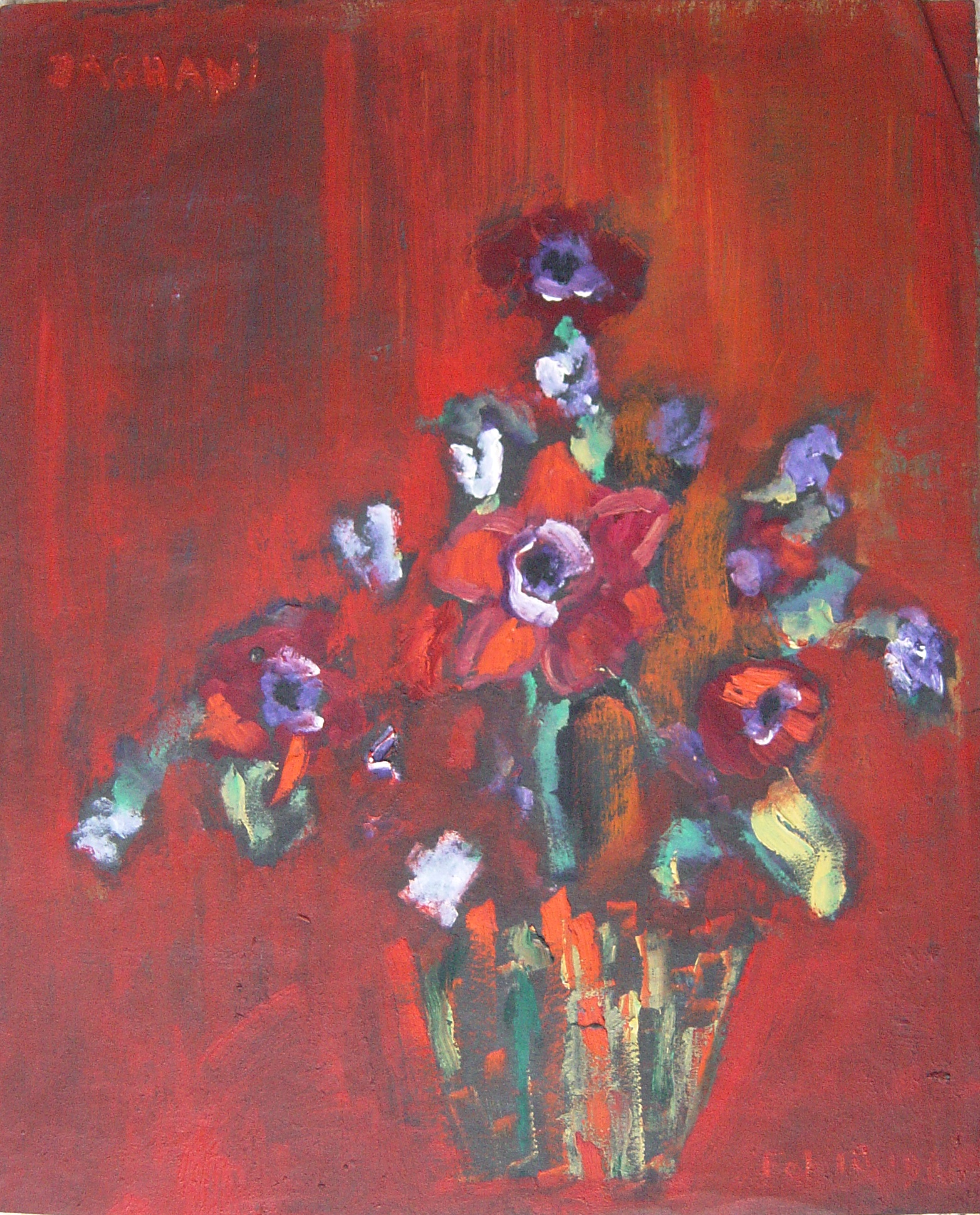 Arnold Daghani - Flowers