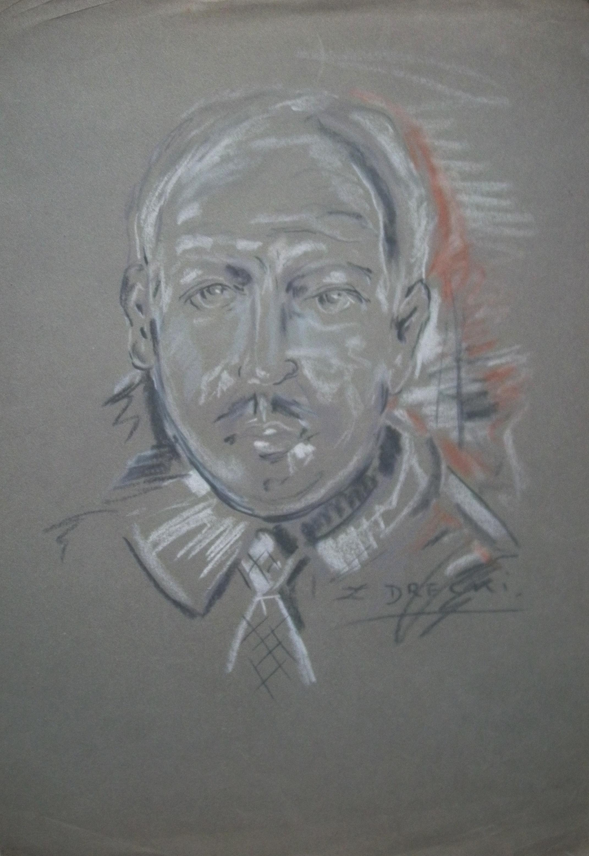 Zbigniew Drecki - Portrait of man