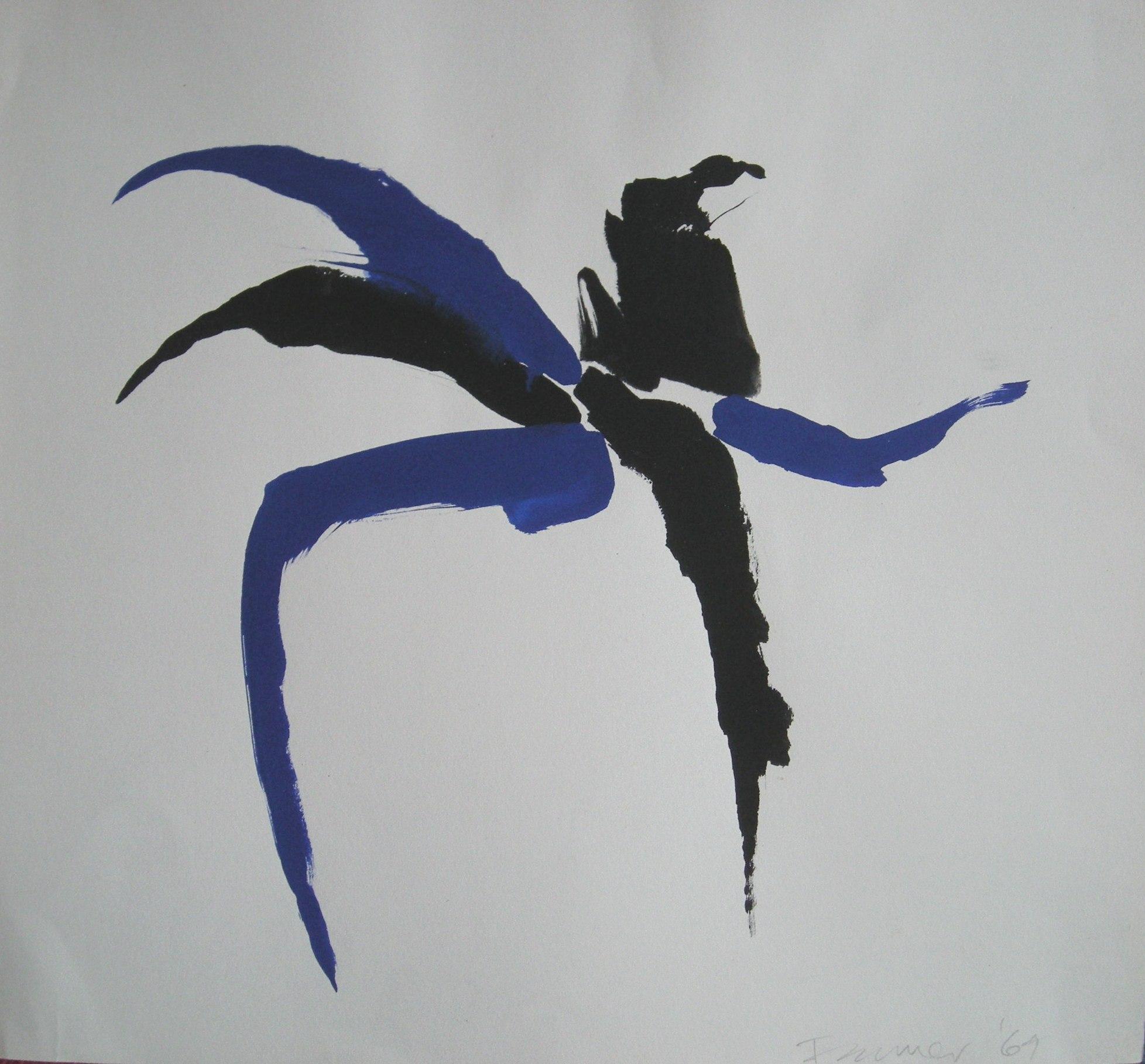 Bernard Farmer - abstract '69