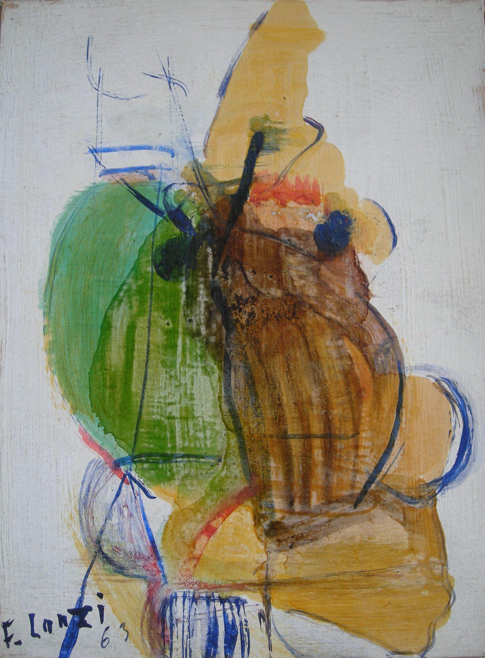 Francois Lanzi - Abstract 1963