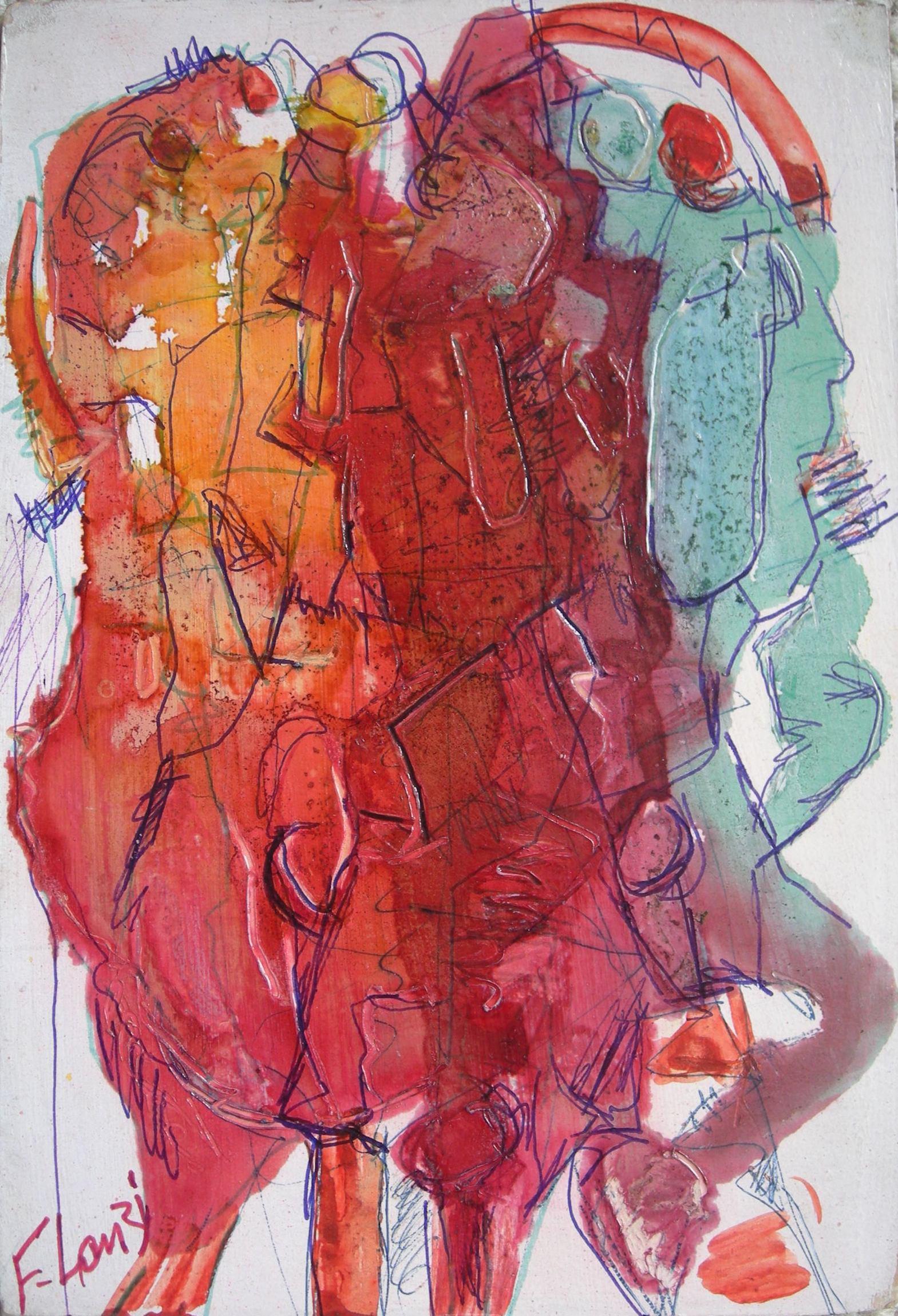 Francois Lanzi - Abstract 1965