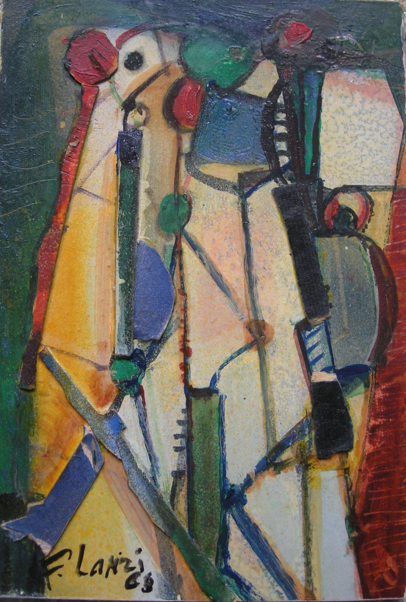 Francois Lanzi - Abstract 1966