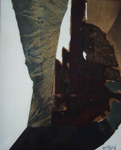 Frederick Lund Ottesen - abstract collage