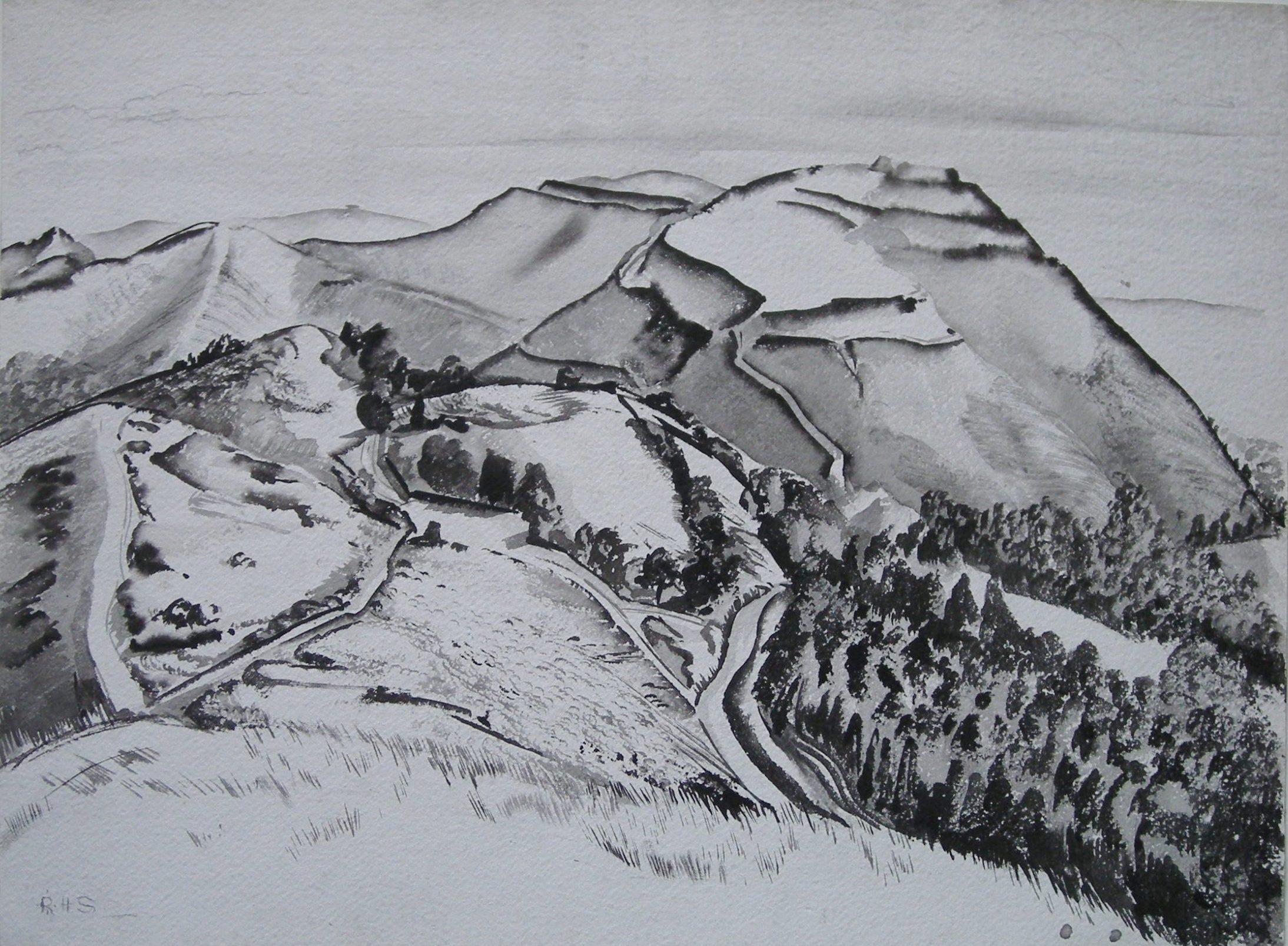 Rudolf Sauter - The Malvern Hills