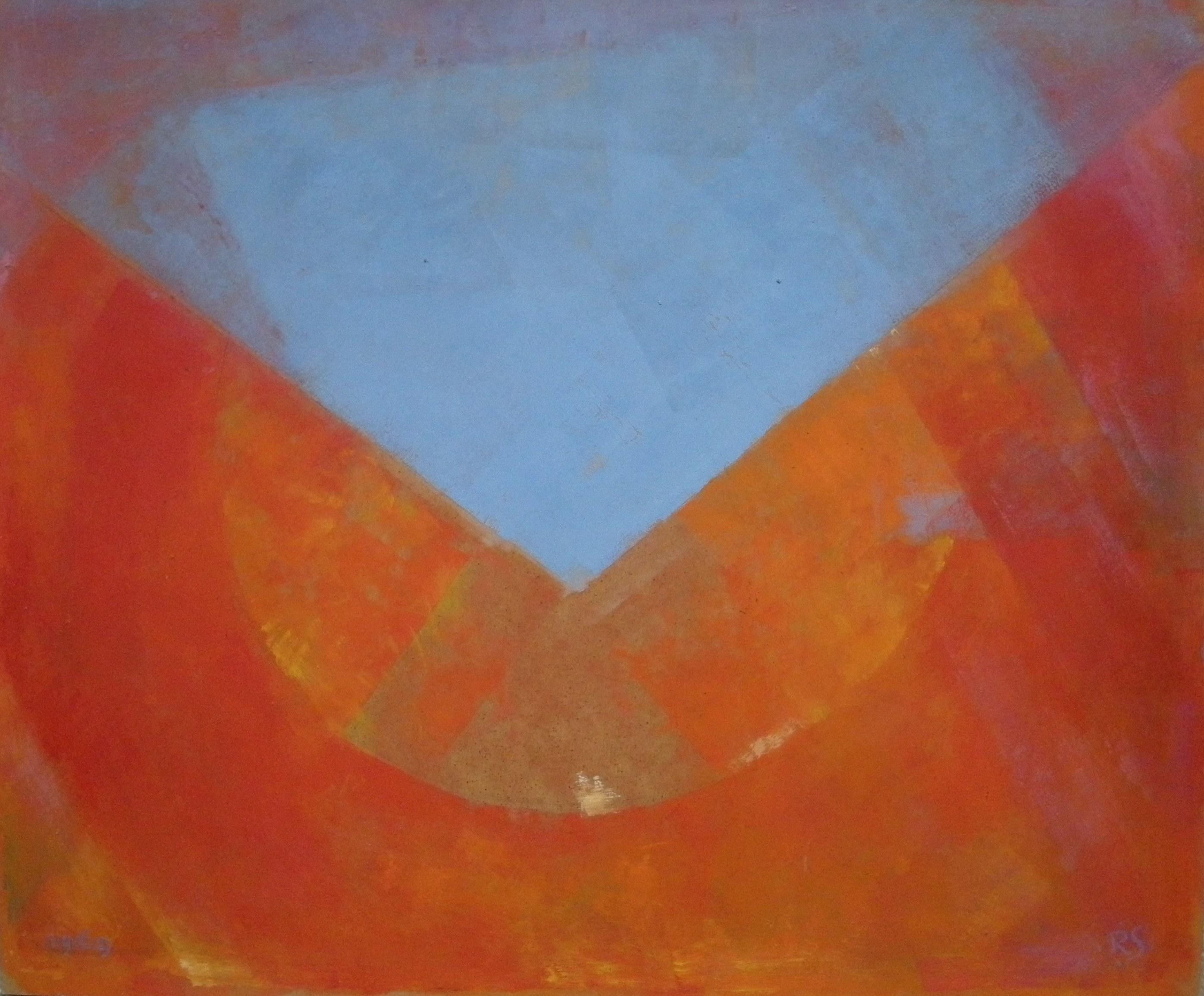 Rudolf Sauter - abstract '69