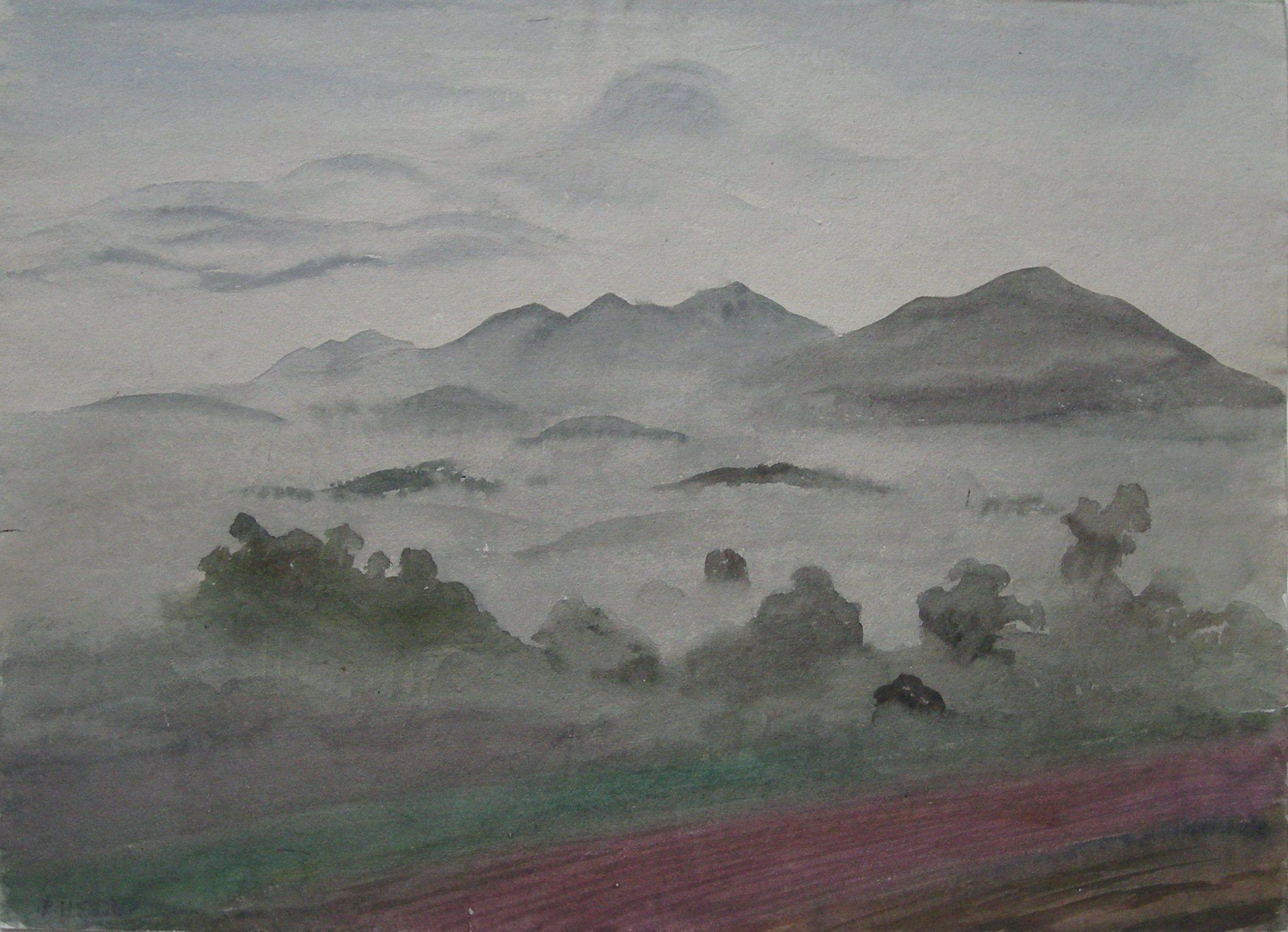 Rudolf Sauter - Mountain landscape