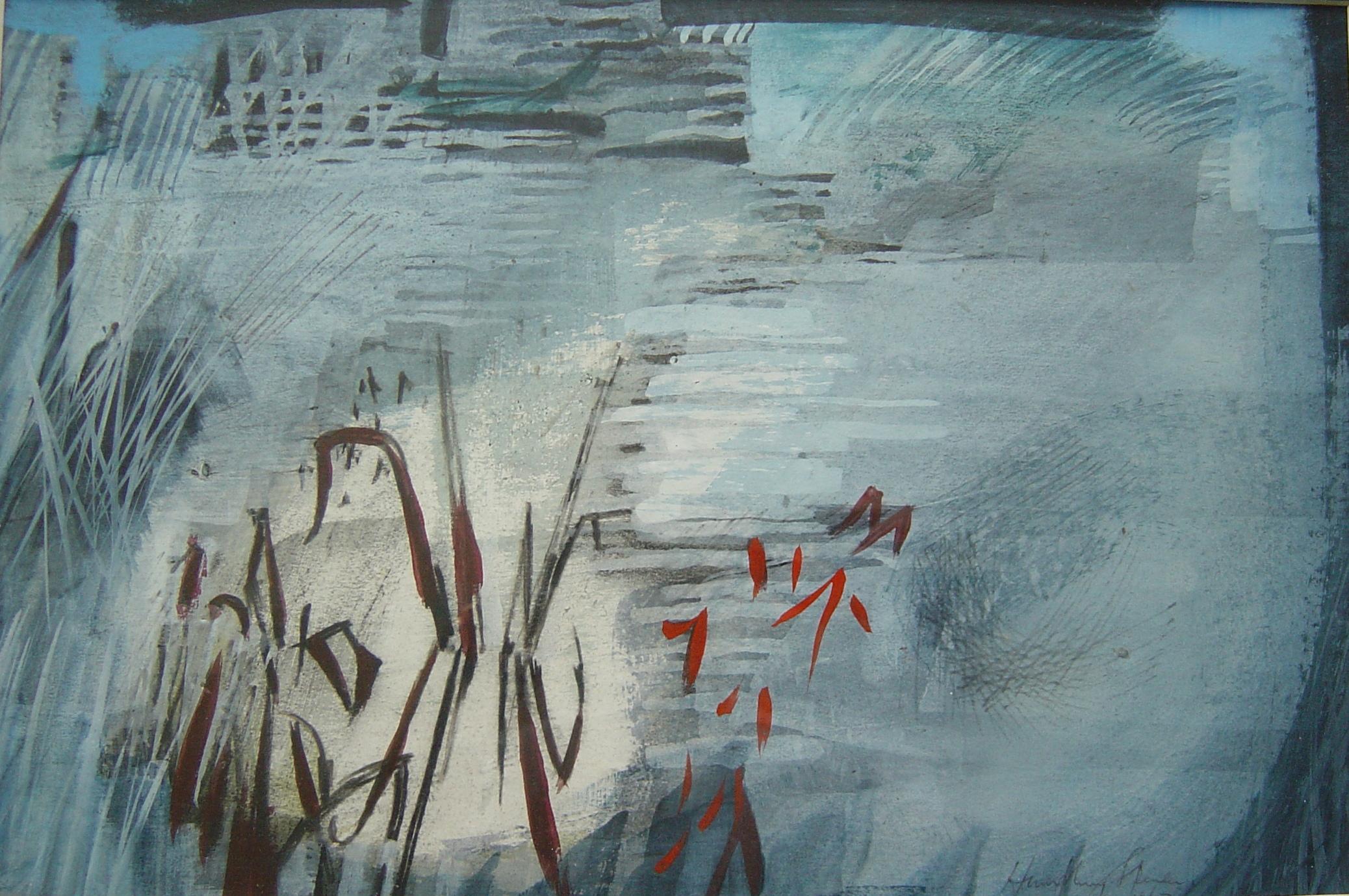 Humphrey Spender - Reeds in Water