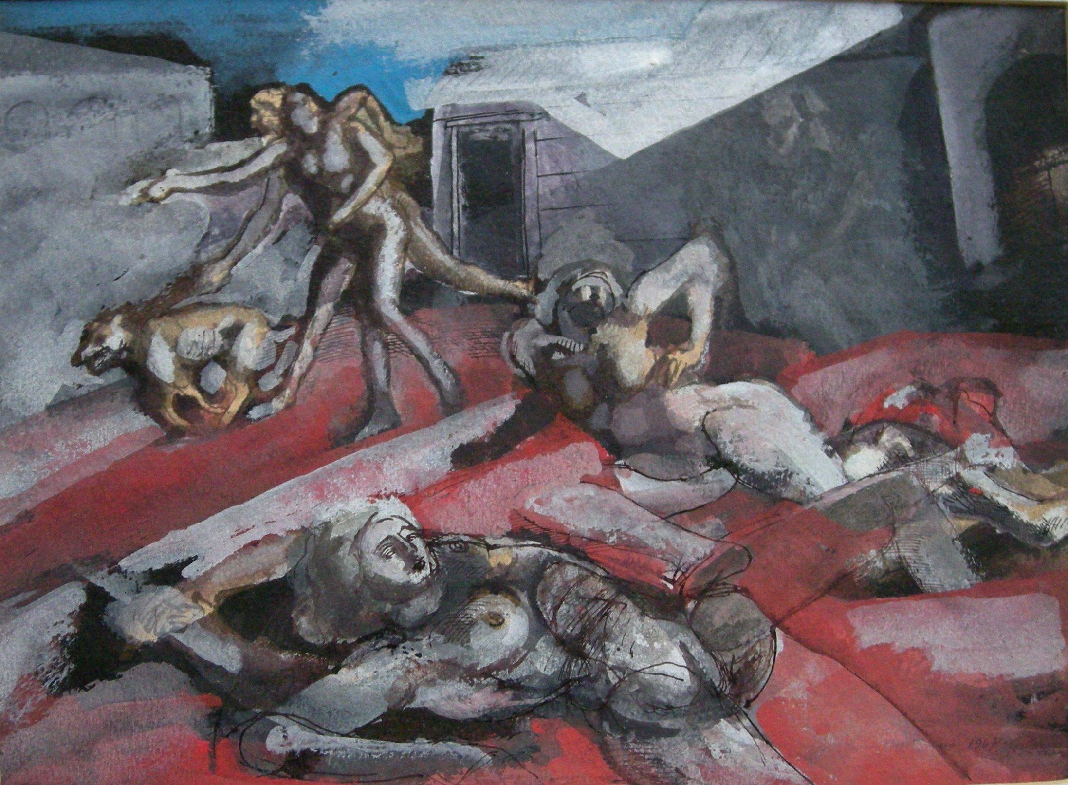 Handel Evans - Violence